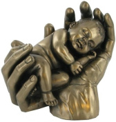 """SWEET DREAMS"" COLD CAST BRONZE BABY SCULPTURE FIGURINE BABIES BRAND NEW & BOXED"
