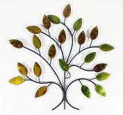Contemporary Metal Wall Art Decor Sculpture - Calm Spring Tree Branch