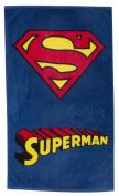 Official Superman Logo Beach Bath Cotton Towel