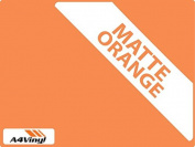 Orange Matte 150mm Kitchen & Bathroom Wall Tile Transfers,