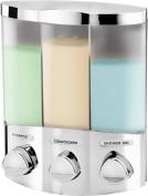 Better Living AVIVA TRIO Dispenser, Chrome