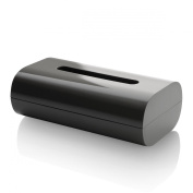Alessi PL07 DG Birillo Tissue Box, Dark Grey