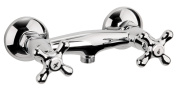 Sanitop-Wingenroth Athenas Two-Handled Mixer Tap for Shower Chrome
