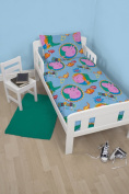 Character World Peppa George Junior Bed Bundle, Multi-Colour