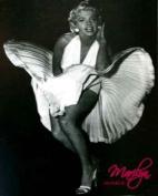 MARILYN MONROE BLACK AND WHITE FLEECE BLANKET
