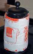 Funky Safari Animal Cafetiere Cover