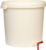 FERMENTATION BUCKET (30L) WITH LID,TAP AND GRADUATION SCALE