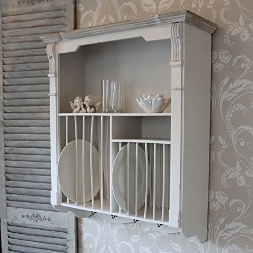 Lyon Range - Cream Wall Mounted Plate Rack by Melody Maison - Shop Online for Homeware in Australia & Lyon Range - Cream Wall Mounted Plate Rack by Melody Maison - Shop ...