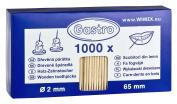 1000 x Wooden Toothpicks Cocktail Sticks