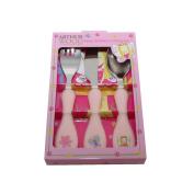 Arthur Wood Fairy Kids Cutlery Set, Silver