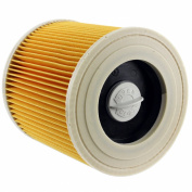 Spares2go Cartridge Filter For Karcher WD2200 WD2210 WD2240 Wet & Dry Vacuum Cleaners