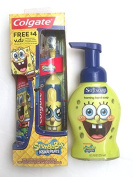 Sponge Bob Colgate Powered Toothbrush & Softsoap Foaming Hand Soap