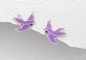 Dove Purple - Sterling Silver