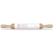 Multicraft Imports Wood Craft Wood Rolling Pin, 42cm