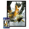 (100) Max Protection Ambush Design Large Gaming Trading Card Protector Sleeves for Magic the Gathering, Pokemon, World of Warcraft, Kaijudo Duel Masters and Cardfight Vanguard Cards