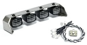 Crawler Stainless Steel LED Fog Light Set for Tamiya Cc01,rc4wd ,Axial