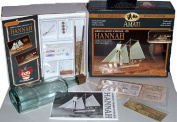 Ship in a Bottle Wood Model Kit Hannah