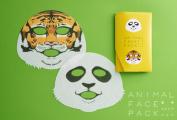 Animal Face Pack【panda and Tiger】