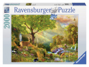 Idyllic Wildlife 2000 Piece Puzzle