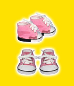 Coloured Sneakers clothes fits 30cm Snuggl'ems, 20cm - 25cm Stuffed Animal kits & most Webkinz & Shining Star animals