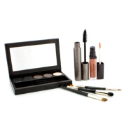 Classic Smoky Eye Palette Collection (1xMascara, 1xLip Glace, 1xCake Eye Liner, 4xEye Colour, 3xBrush), 10pcs