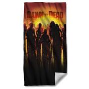 Title -- Dawn Of The Living Dead -- Beach Towel