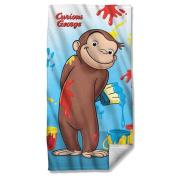 Paint -- Curious George -- Beach Towel
