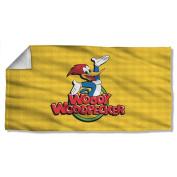 Title -- Woody Woodpecker -- Beach Towel