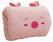 TheWin Plush Hand Warmer Cartoon Pillow Pink Pig