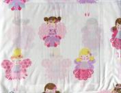 Nicole Miller Home Kids Full Sheet Set ~ Fairies