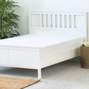LINENSPA Premium Smooth Fabric Mattress Protector - 100% Waterproof - Hypoallergenic - 10 Year Warranty - Vinyl Free - Cal King