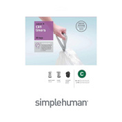 Simple Human Trash Can Liners 10 L 1.18mil 20 Liners / Bag
