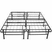 Night Therapy Sleep Revolution Platform Metal Bed Frame/Mattress Foundation, Cal King