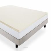 LUCID 5.1cm Ventilated Memory Foam Mattress Topper 3-Year Warranty - Short Queen - RV Queen