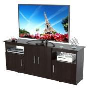Inval MTV-6719 Contemporary Flat-Screen TV Stand, 150cm , Espresso-Wengue