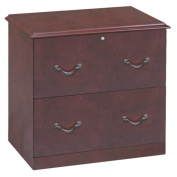 Z-Line Designs 2-Drawer Lateral File Cabinet, Cherry