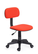 Hodedah Armless Task Chair, Red