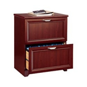 Realspace(R) Magellan Collection 2-Drawer Lateral File Cabinet, 80cm .H X 60cm .W X 42cm .D, Classic Cherry