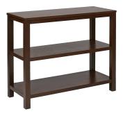 Ave Six MRG07R1-MAH Merge Wood Grain Foyer Table, 90cm , Mahogany