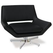 Yield 100cm Wide Chair, Black