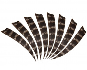 36pcs 10cm Wildfires Turkey Feather Fletching Archery Hunting Arrows Right Wing Feathers