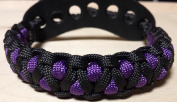 Muddy River Gear Archery Bow Wrist Sling Black and Purple Caged