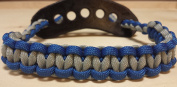 Muddy River Gear Archery Bow Wrist Sling Blue and Grey