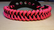 Muddy River Gear Archery Bow Wrist Sling Pink and Black Shark