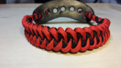 Muddy River Gear Archery Bow Wrist Sling Thin Red and Red Shark
