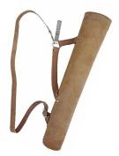 ArcheryMax Antique Leather Back/Side/Hip Arrows Quiver