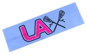 LAX Headband Funny Girl Designs Cotton Stretch Lacrosse Headband