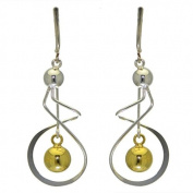 GAETANA sterling silver and g-plated clip on earring by SPK