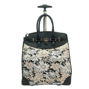 Daisy Sunflower Rollie Rolling Tote