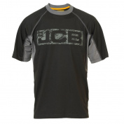 JCB Men's Fenton Polo Shirt - Black, Small